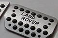 Новинка! Накладки на педали Silver Line для Land Rover!