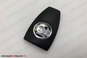 Крышка электронного ключа с лого AMG Affalterbach (ч-б)