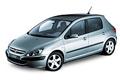 Car pedal set Peugeot 307 (2001 - 2008)