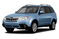 Накладки на педали Subaru Forester SH (2008 - 2012)
