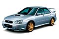 Накладки на педали Subaru Impreza GD/GG (2000 - 2007)