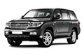 Накладки на педали Toyota Land Cruiser 200 (2007 - 2015)