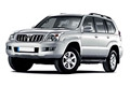 Накладки на педали Toyota Land Cruiser Prado 120 (2002 - 2009)