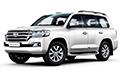 Накладки на педали Toyota Land Cruiser 200 (2015 - н.в.)