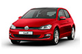 Накладки на педали VW Golf VII (2012 - н.в.)