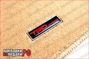 Эмблемы на коврики TRD (вар. 2)
