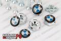 Болты номерного знака BMW (хром)