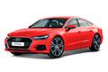 Накладки на педали Audi A7 4K (2018 - н.в.)