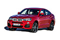 Накладки на педали BMW X4 F26 (2014 - н.в.)