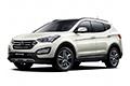Накладки на педали Hyundai Santa Fe DM (2012 - 2018)