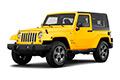 Накладки на педали Jeep Wrangler JK (2007 - 2018)