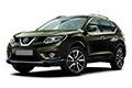 Накладки на педали Nissan X-Trail T32 (2014 - н.в.)