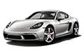 Накладки на педали Porsche 718 Cayman 982C (2016 - н.в.)