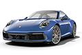 Накладки на педали Porsche 911 (2019 - н.в., кузов 992)