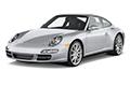 Накладки на педали Porsche 911 (2005 - 2012, кузов 997)