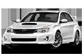 Накладки на педали Subaru Impreza GE/GH (2007 - 2011)