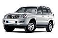 Накладки на педали Toyota Land Cruiser Prado 120 (2002 - 2009)