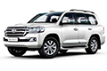 Накладки на педали Toyota Land Cruiser 200 (2015 - н.в.)