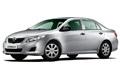 Накладки на педали Toyota Corolla 140/150 (2007 - 2013)